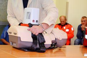 Ełcki szpital ma urządzenie do mechanicznej kompresji klatki piersiowej