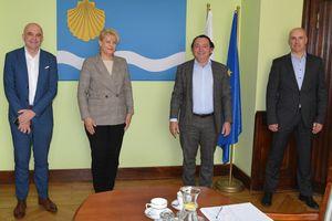 Przedstawiciele grupy BOCCARD spotkali się z władzami Olsztyna