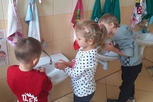 Światowy Dzień Mycia Rąk w Przedszkolu Miejskim
