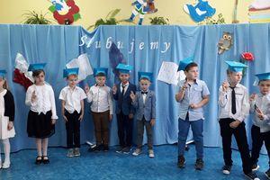 Ślubowanie pierwszaków ze szkoły w Tereszewie