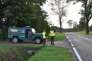 Kierowca mazdy miał pecha, trafił na patrol Straży Granicznej