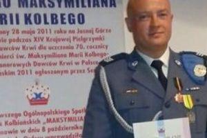 Radny gminy Kozłowo Tomasz Kucmus odznaczony