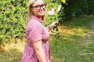 Justyna Domańska-Anacka: Utkałam Lilię z wyobraźni [ROZMOWA]