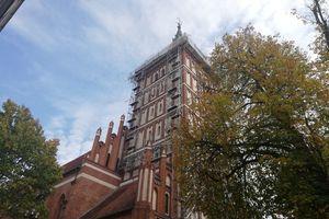 Katedra w remoncie, bo dach przecieka