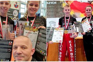 Amelia i Maciej - nasi Mistrzowie Polski w kickboxingu