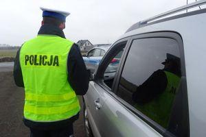 Kierowca citroena jechał pod wpływem narkotyków, a do tego był poszukiwany