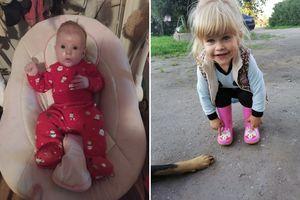 Świąteczne Brzdące: Emilia i Amelia Kwiatkowskie ze Stegi Małej