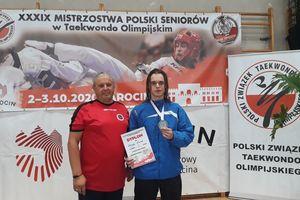 Maurycy Miszczak srebrnym medalistą MP w taekwondo