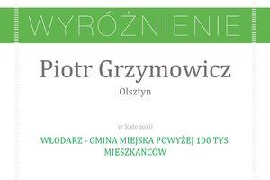 Prezydent Olsztyna wyróżniony w rankingu