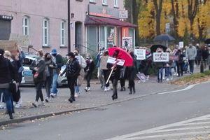 Protest w Ostródzie: