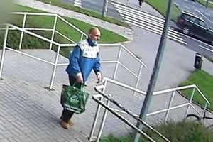 Ukradł rower na al. Piłsudskiego. Poszukuje go policja [VIDEO]