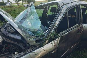 Niedostosowanie prędkości do warunków na drodze przyczyną wypadku