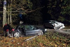 Wypadek na trasie Wejdyki- Ryn. Dwoje dzieci i ich mama w szpitalu