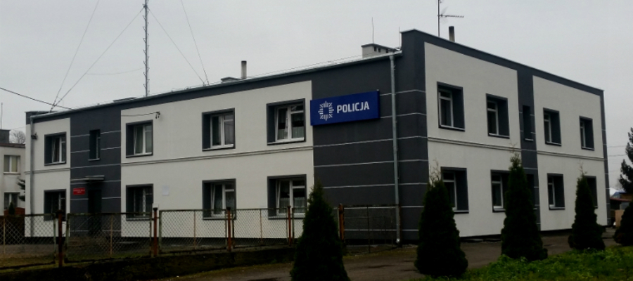 Komisariat policji w Zalewie