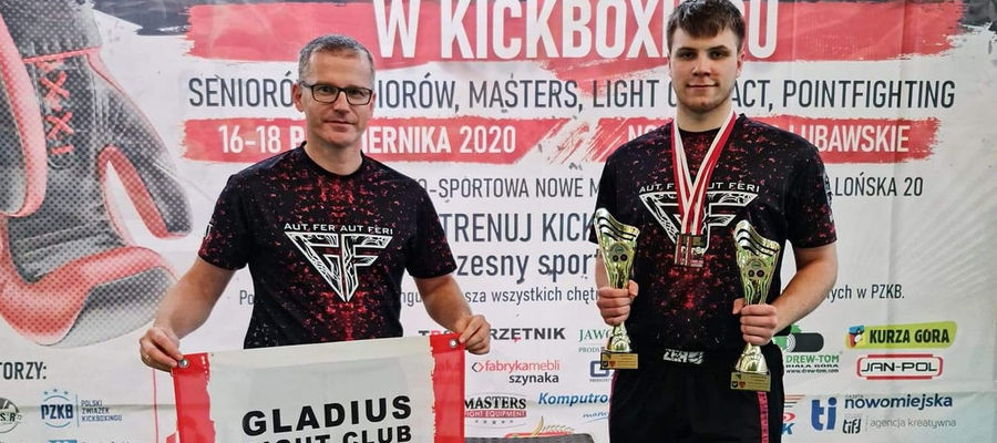Marcin Dolecki (z prawej) zdobył dwa medale mistrzostw Polski