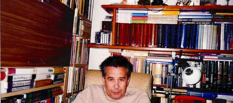Waldemar Kisieliński miał bardzo bogatą bibliotekę