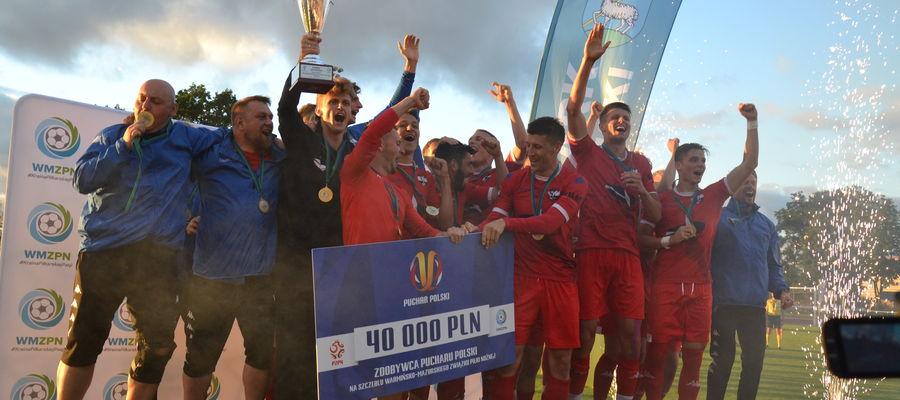 Przepustką do Pucharu Polski było zwycięstwo w Lidzbarku Warmińskim