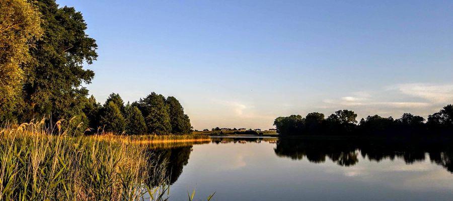 Jezioro Grajewko koło Giżycka