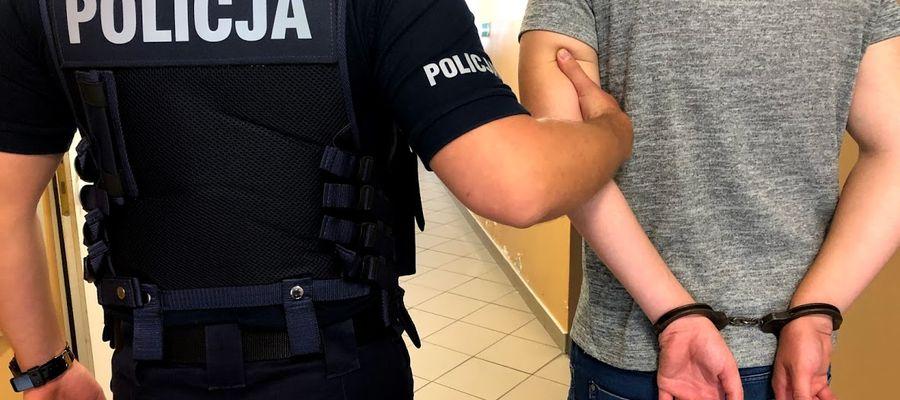 32-letni sprawca przemocy domowej został zatrzymany