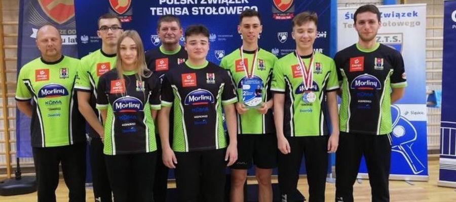 Zawodnicy Morlin Ostróda na mistrzostwach Polski juniorów w Gliwicach zdobyli cztery medale