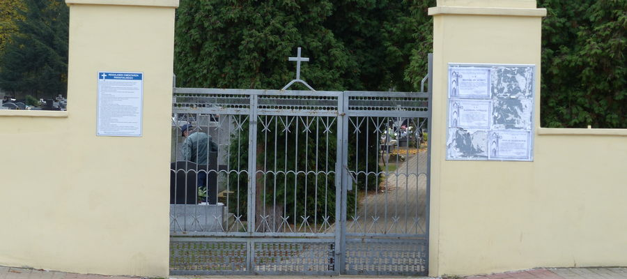 Zamknięty cmentarz
