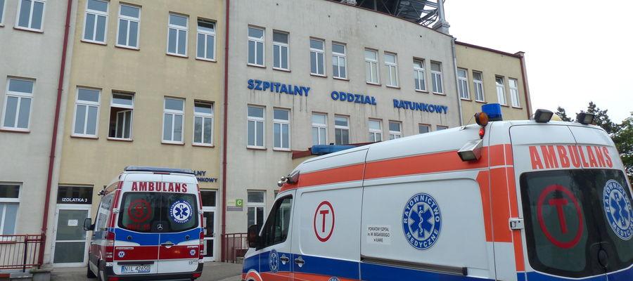 Wejście do iławskiego Szpitalnego Oddziału Ratunkowego