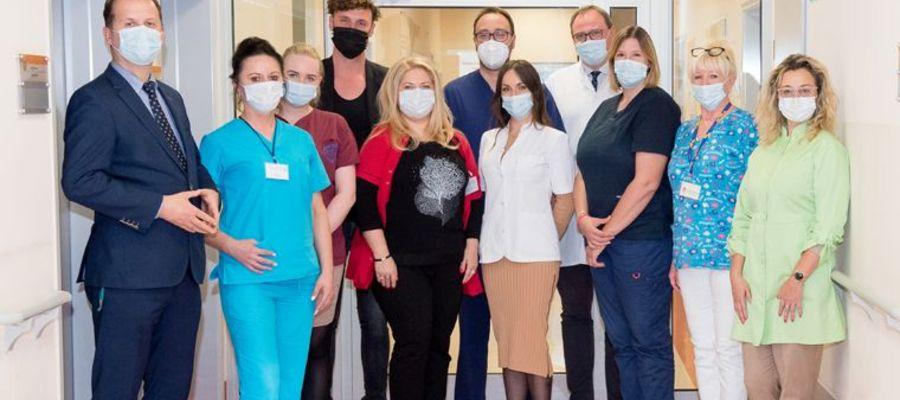 Pracownicy Oddziału Udarowego Kliniki Neurologii Uniwersyteckiego Szpitala Klinicznego