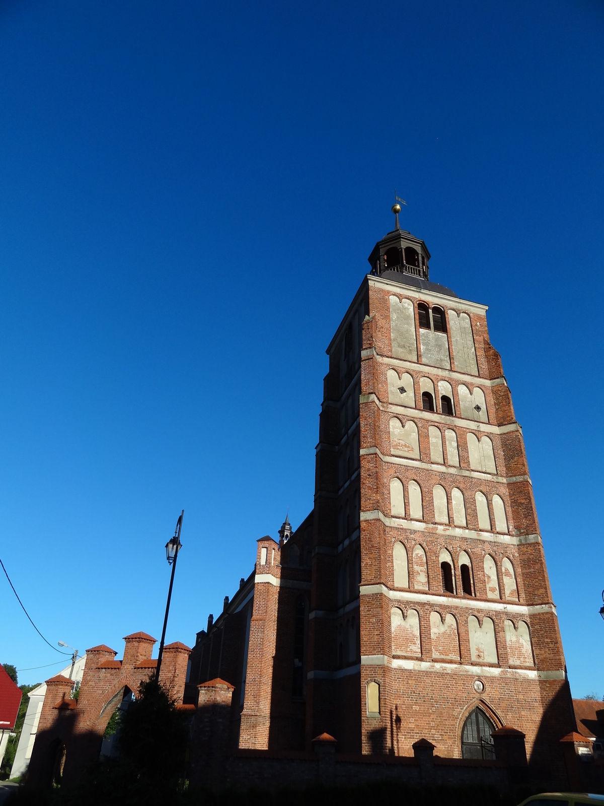 Barczewo: gotycki kościół św. Anny i św. Szczepana