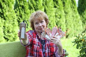 Beata Kaczmarska z Olsztyna zamieniła tablicę na nożyczki