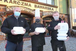 Jemy i pomagamy! Lista olsztyńskich lokali, które sprzedają posiłki na wynos oraz z dowozem