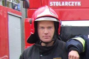 Strażak z Olsztyna uratował życie przypadkowo napotkanemu mężczyźnie
