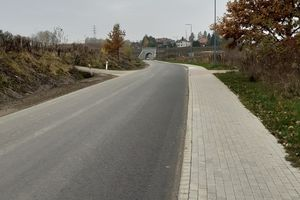 Zakończył się remont ulicy Gietrzwałdzkiej w Bartągu [ZDJĘCIA]