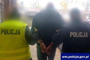 Policjanci zatrzymali 23-latka podejrzanego o pobicie