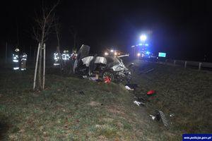 Tragiczny wypadek na S7. Mężczyzna wypadł z pojazdu i zginął na miejscu
