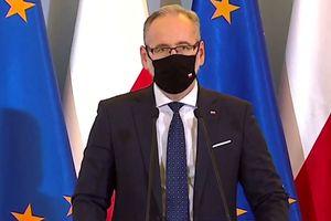 Konferencja prasowa ministra zdrowia Adama Niedzielskiego [LIVE VIDEO]