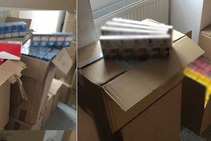Przewoził i przechowywał w garażu ponad 10 tys. paczek papierosów bez polskich znaków akcyzy
