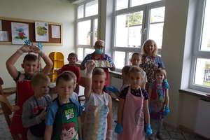 Święto chleba w szkole w Galinach
