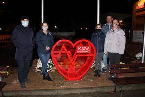 KGW Iskra postawiła serce na nakrętki przy Urzędzie Gminy!