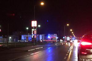 Potrącenie pieszej na ulicy Grunwaldzkiej w Nowym Mieście.  AKTUALIZACJA: Kobieta nie żyje.