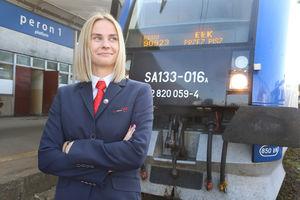 Zuzanna Wytrykowska, pierwsza maszynistka w Olsztynie, czeka na koleżanki [ROZMOWA]