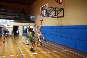 Znakomity mecz koszykarek