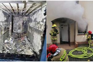 Ogień zabrał dom strażaka. Potrzebna pomoc