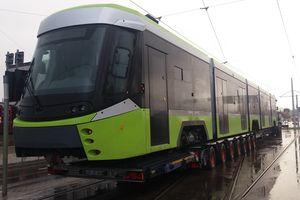 Drugi tramwaj dotarł do Olsztyna