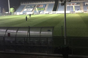 Z Motorem światła zgasły, ale Sokół Ostróda wygrał szósty mecz