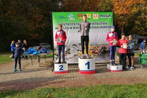 Nasi młodzi biegacze znakomicie wypadli na mistrzostwach województwa