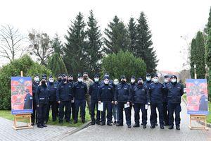 Mundurowi z Wyższej Szkoły Policji w Szczytnie podzielili się osoczem