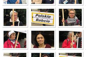 Polskie Babcie pokazują swój sprzeciw