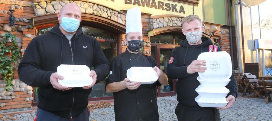 Do zakupu jedzenia na wynos zachęca między innymi Karczma Bawarska