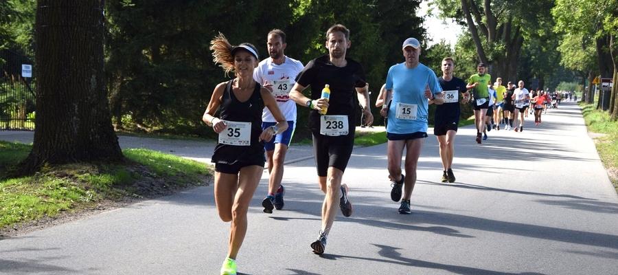 Na trasie Iławskiego Półmaratonu