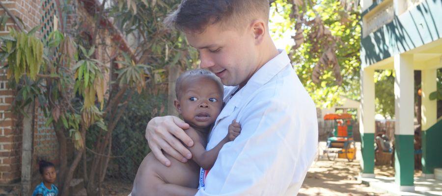 Daniel Kasprowicz na Madagaskarze